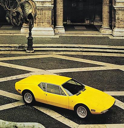 1970 - De Tomaso Pantera (Ghia)