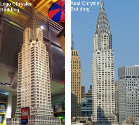 Lego - Chrysler Tower